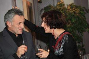 """Отец и дочь на вечеринке """"Нашей газеты"""" © NG.ch"""